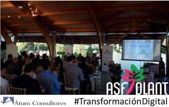 Transformación digital en la Jornada del socio de la Asociación de Profesionales de Flores, Plantas y Tecnología Hortícola (ASFPLANT)